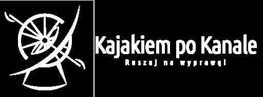 Logotyp Kajakiem po Kanale